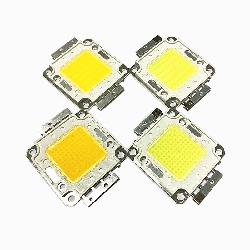Lámpara LED con Chip COB de alta potencia bead10W 20W 30W 50W 100W fuente integrada SMD para foco reflector blanco frío Natural
