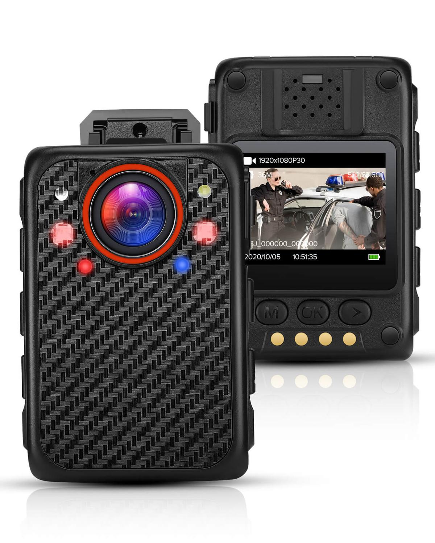 BOBLOV X1 كاميرا يمكن حملها بالجسم المصغرة 1080P المحمولة هيكل الكاميرا دعم 128GB للرؤية الليلية الشرطة الجسم يرتديها الأمن كامارا كام