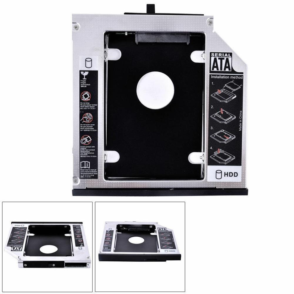 12.7MM 2nd SATA Hard Disk Drive HDD SSD Caddy Adapter Tray for Lenovo IdeaPad G570 G580 G585 G770