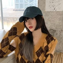 2021 New Hat Female Korean Ins Special-Interest Fashion Brand Peaked Cap Face-Showing Primary School
