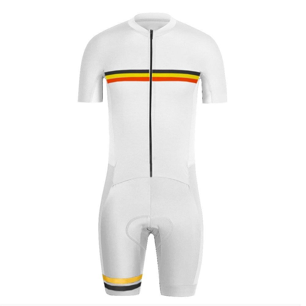 Bélgica PRO equipo ycling Skinsuit triatlón Speedsuit Trisuit Ropa de Ciclismo una pieza Bodysuit Ropa Ciclismo