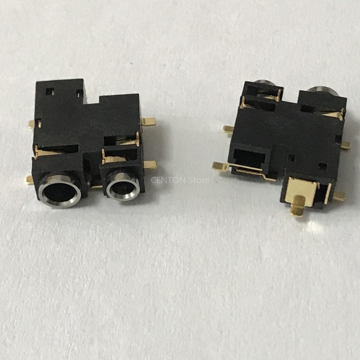 5x tomada do fone de ouvido jack para motorola ep450 a8 cp040 gp3188 gp3688 conector alto-falante