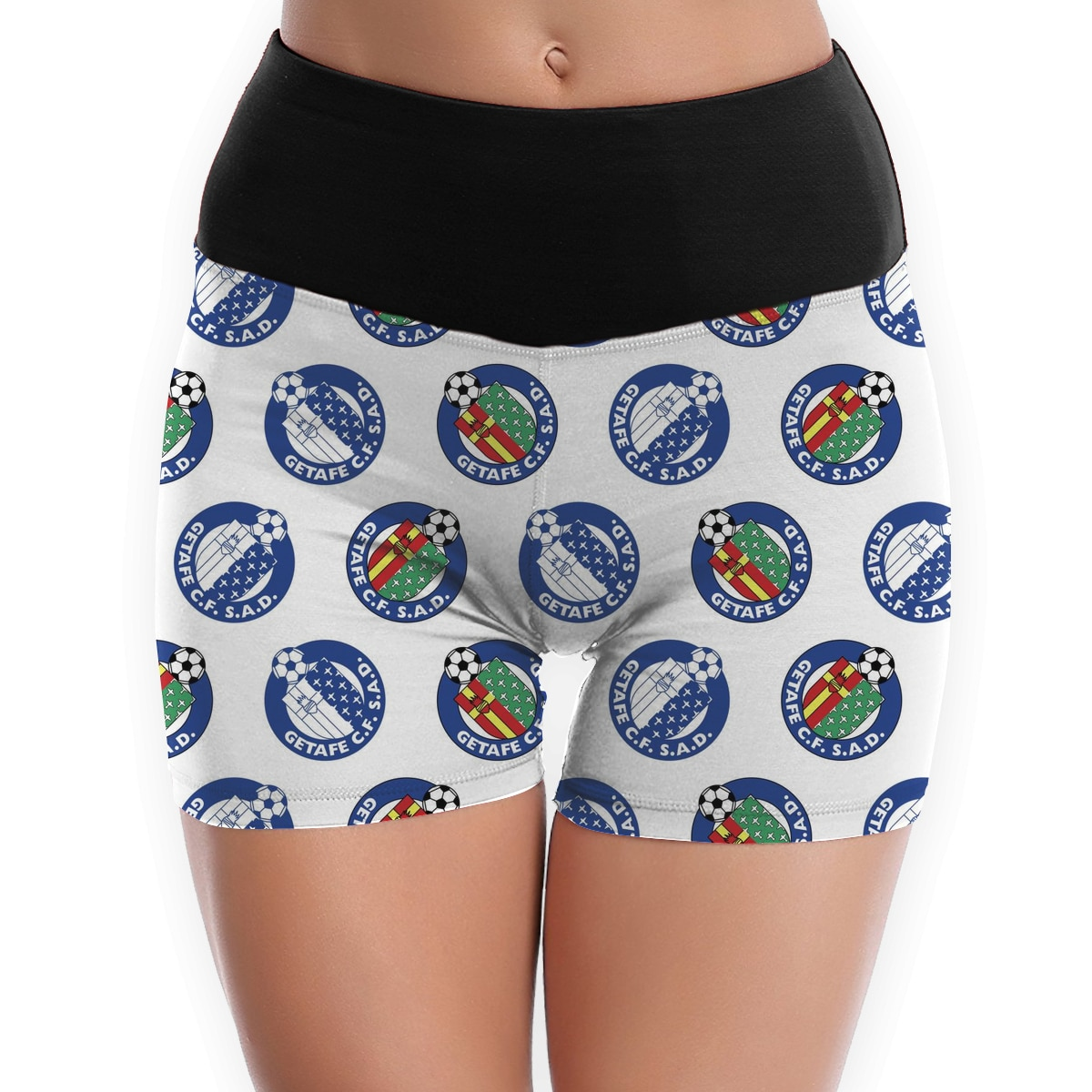 Getafe CF Sexy Breathable Shorts Sports Wear Workout Athletic Gym Fitness Yoga Short Pants  - buy with discount