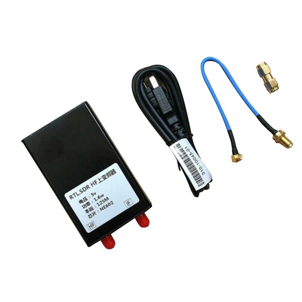 150K-30MHZ HF Upconverter для RTL2383U SDR приемник с алюминиевым чехол UPCONVETER с кабелем передачи данных USU