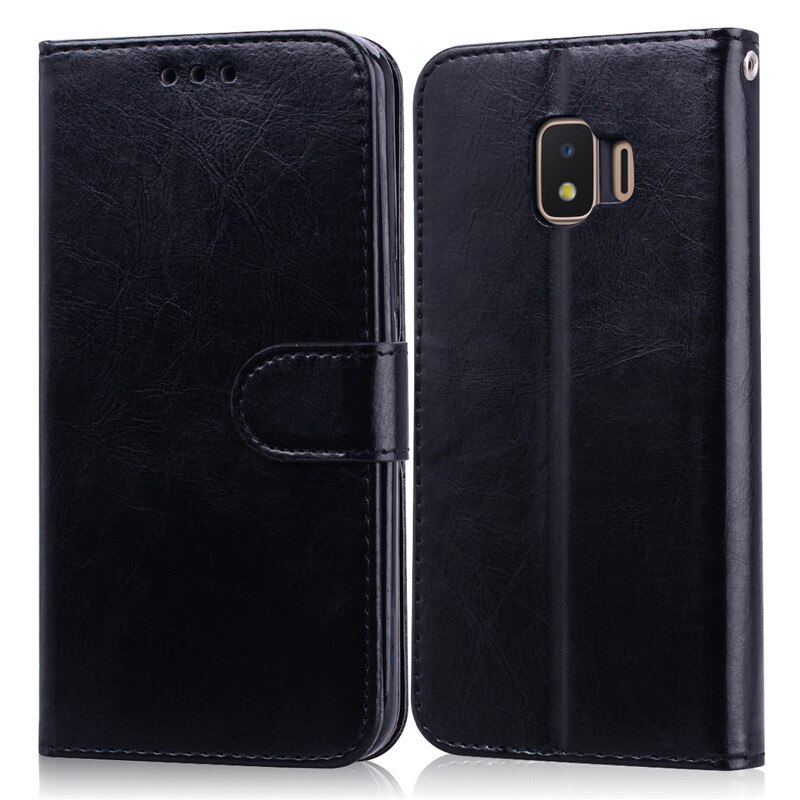 Flip Case For Samsung Galaxy J2 2018 J250 SM-J250F Soft Silicone Wallet Flip Case For Samsung Galaxy J2 Pro 2018 Phone Case