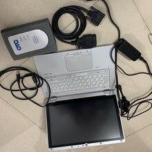 Connecteur de câble GTS IT3 OTC   Pour le logiciel de diagnostic toyota, installé sur ordinateur portable, tactile prêt à travailler, connecteur de câble Techstream GTS Global