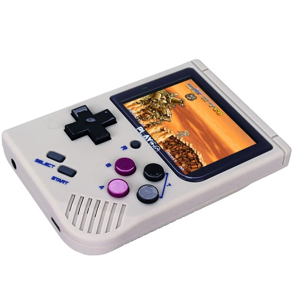 Video Game Console BITTBOY PLAYGO Version3.5 - Retro Game Handheld Games Console Player Progress Save/Load MicroSD Card External