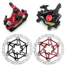 Zoom HB-100 vtt vélo frein HB100 vélo freins étrier w rotors pièces de vélo piston hydraulique bidirectionnel