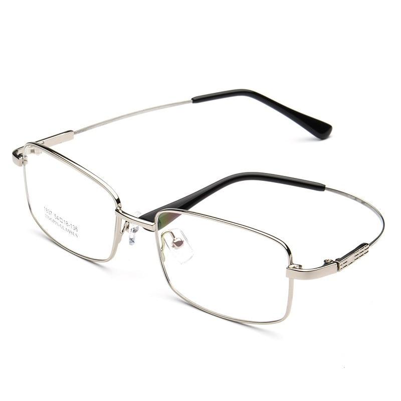 Gafas de sol clásicas de buena calidad con memoria de aleación de Metal de titanio y gafas graduadas de marca marco para gafas ópticas
