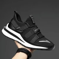 spring summer mens sneakers trend all match casual running shoes soft bottom breathable lightweight cushioned sports shoes men