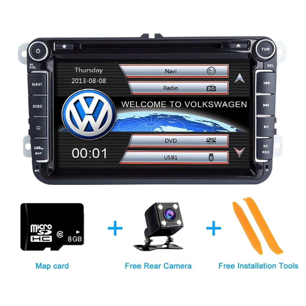 Zltoopai Auto Radio 2 Din Auto Dvd Voor Vw/Volkswagen/Golf/Polo/Tiguan/Passat/ seat/Leon/Skoda/Octavia Gps Stereo Dvr Dab