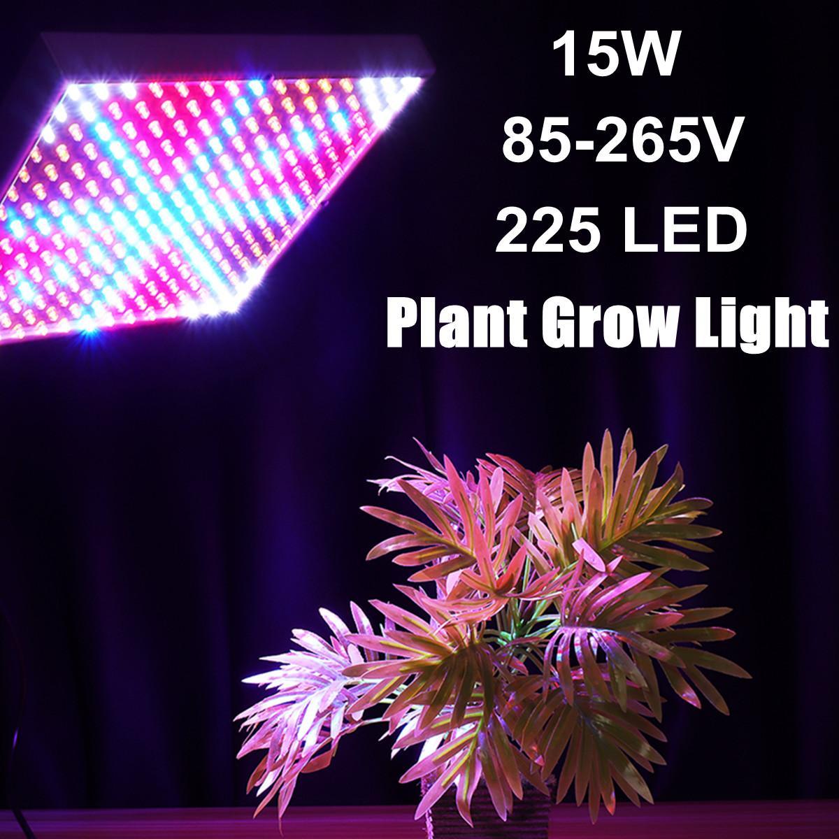 Kit de plántulas de clonación de propagación de paneles LED, esterilla de calor, carpa de cultivo, configuración hidropónica 85-265V