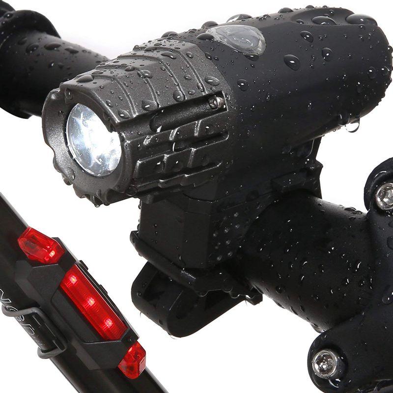 Anúncio quente-farol traseiro da bicicleta da luz da bicicleta-night rider usb recarregável led dianteiro piscando lanterna