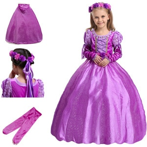 Halloween Kids Clothes Children's Costumes Cosplay Girls Birthday Party Dresses Sophia Princess Dress Up Outfits