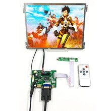 10.4inch G104XVN01.0 1024X768 IPS LCD Screen HDMI VGA AV1 AV2 lcd driver board Replace G104X1-L04