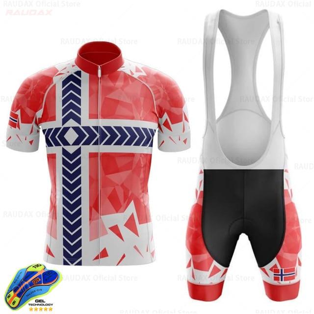 Conjunto de ropa de ciclismo para hombre y mujer, maillot transpirable para...