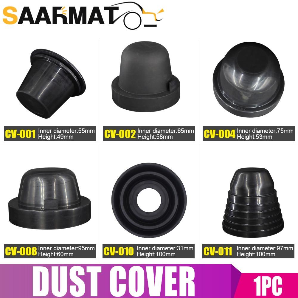 1 Piece Car HID LED Headlight Dust Cover Sealing Cap Rubber Waterproof Dustproof Headlamp 60 65 70 75 80 85 90 95 100mm