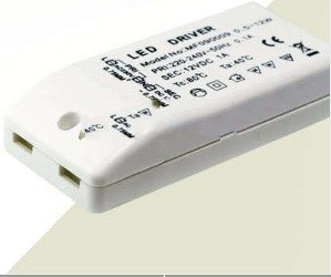new 20 pcs  Singapore Registered mail  LED Driver Transformer Power Supply  DC 12V 12w + one pcs for a free gift