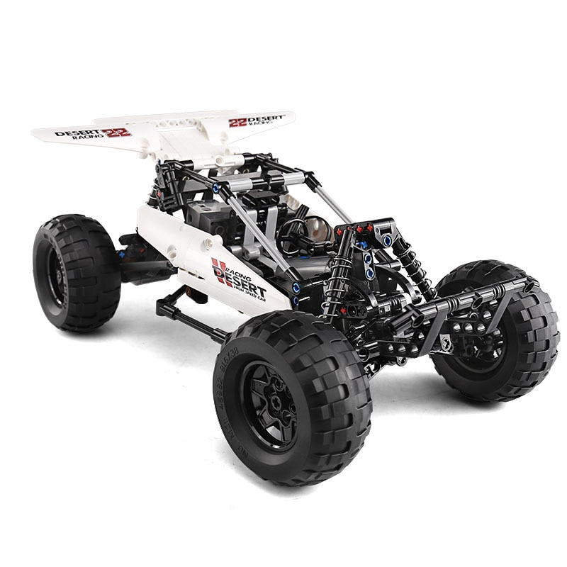 Compatible MOC Building Blocks Remote control Car Off-road Vehicle APP Programming RC Technical   Electric Toys for Children Gif enlarge