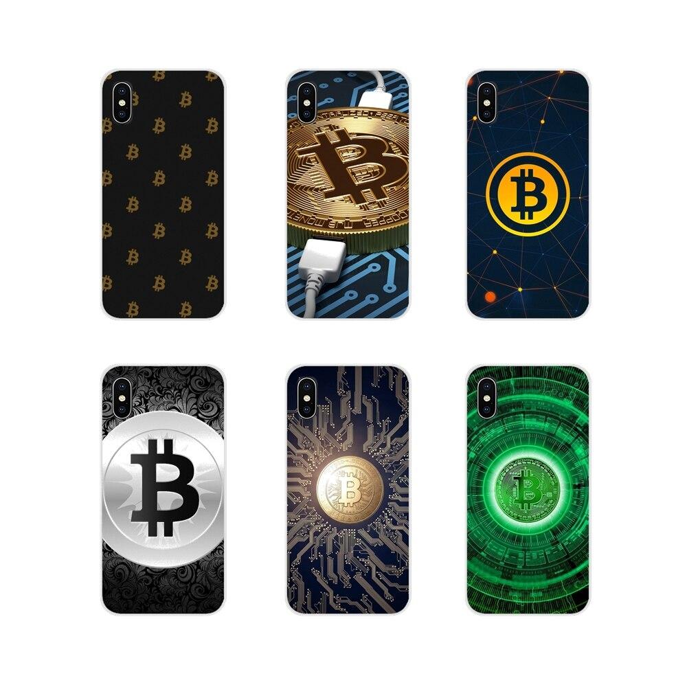 Accesorios de la cáscara del teléfono cubre quiero aceptar Bitcoin para iPhone X de Apple XR XS 11Pro MAX 4S 5S 5C SE 6 6S 7 7 Plus ipod touch 5 6