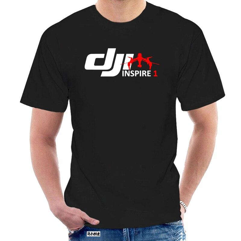 Mode Neue Top Tees T-shirts Neue DJI Phantom Inspire Eine Pilot 02 Gemeinschaft Schwarz hemd größe S zu 3XL T shirts @ 037905