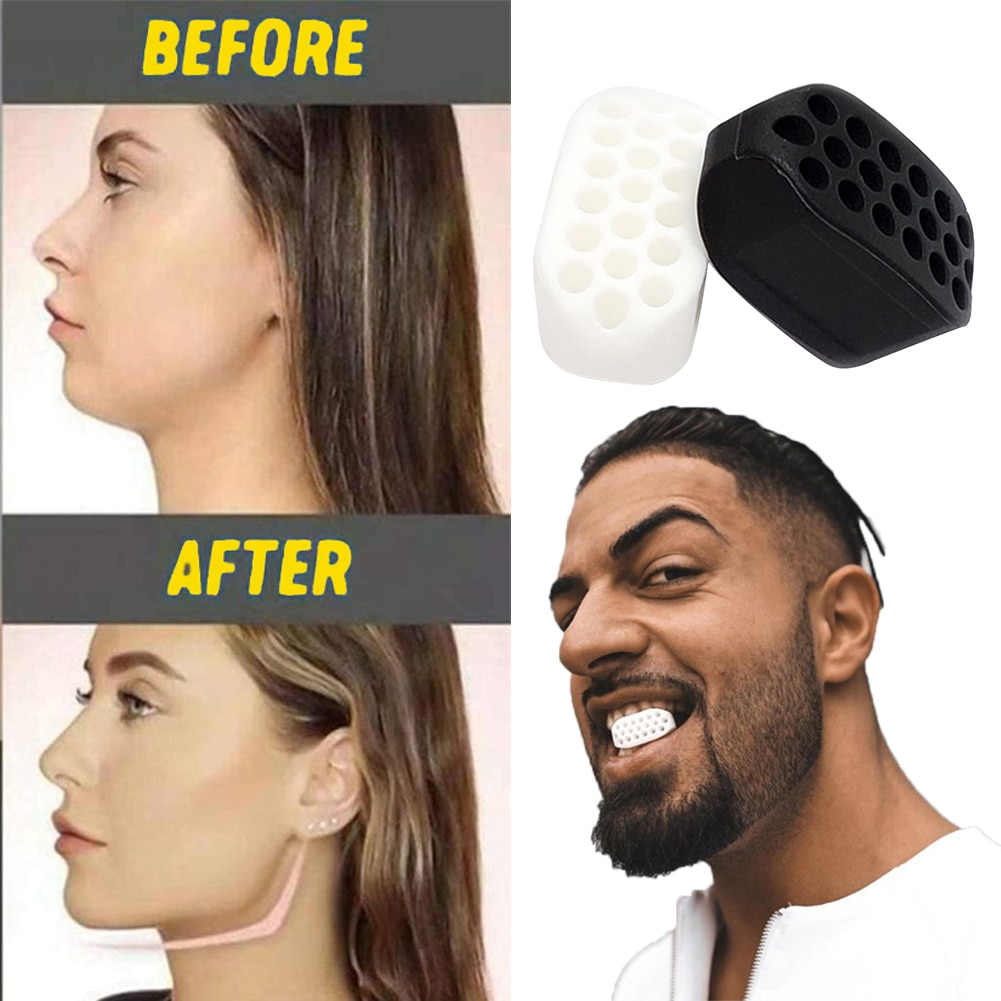 Face Jaw Muscle Exerciser Food Grade Silicone Facial Line Trainer Slimming Anti Wrinkle Beauty Fitne