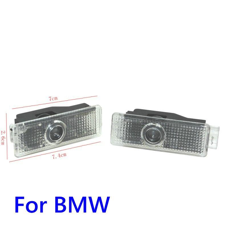 Car Led Door Light Projector Logo Welcome Light For BMW 3 7 5 Series G30 E90 E60 M5 G11 G12 F30 F31 X1 F48 X4 F26 X6 F16 X5 G05