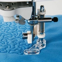 white 1 pc multifunction sewing machine parts household free motion darning embroiderying darning foot presser foot