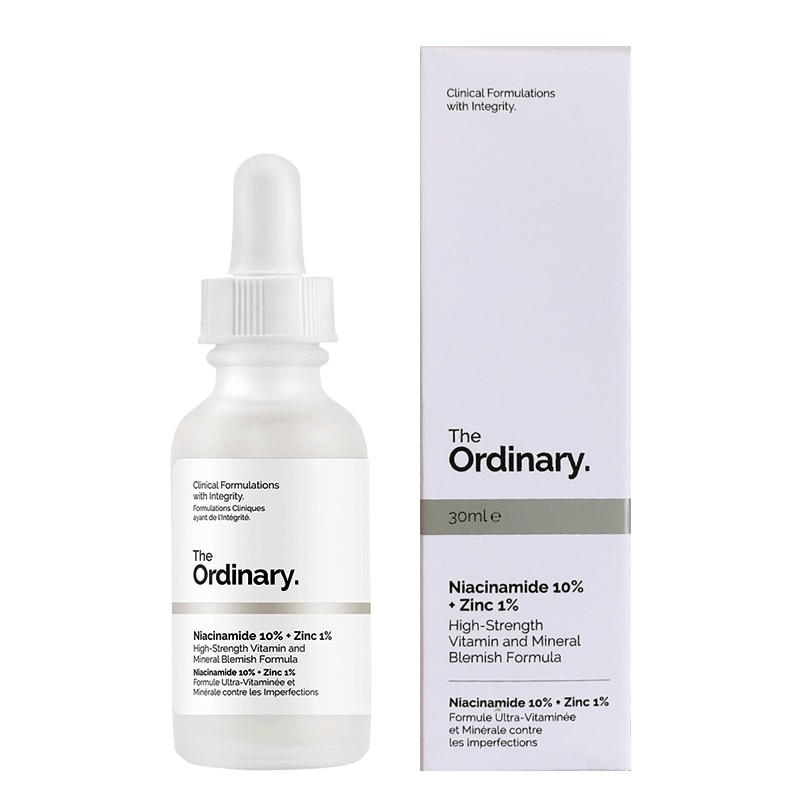 Hotsale alta fuerza normal niacinamida 10% + Zinc 1% 30ML cara aceite SÉRUM equilibrio reducir imperfecciones de la piel blanqueamiento crema hidratante