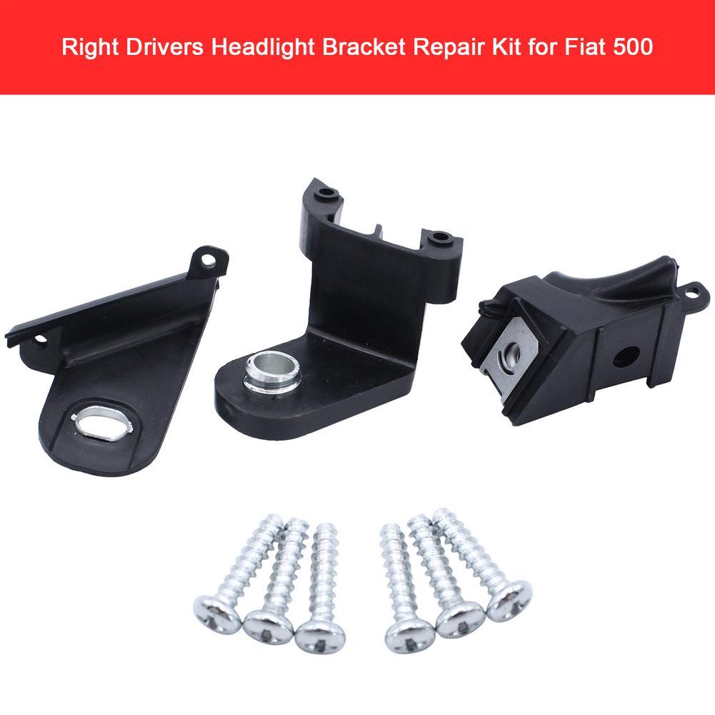 Right Drivers Headlight Bracket Repair Kit Car Headlight Repair Claw 51816681 Car Head Light Repair Accessories