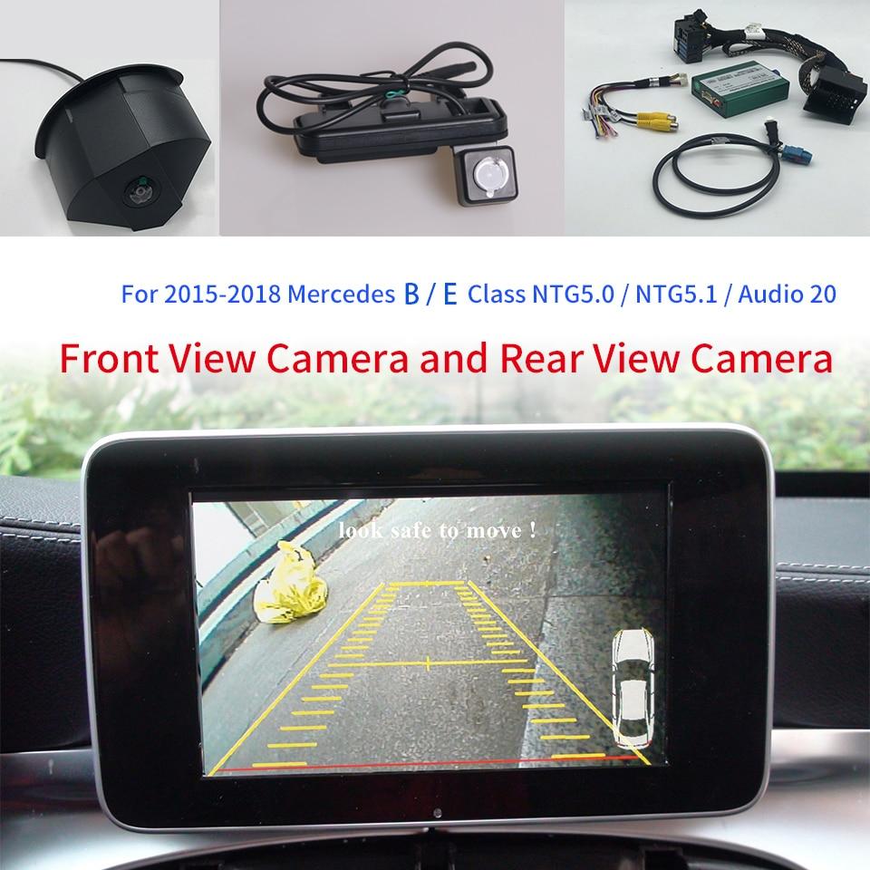 Promo Reverse Camera For Mercedes B Class W246 220D Interface Adapter Parking Rear Backup Camera Connect Original Screen NTG5 Decoder