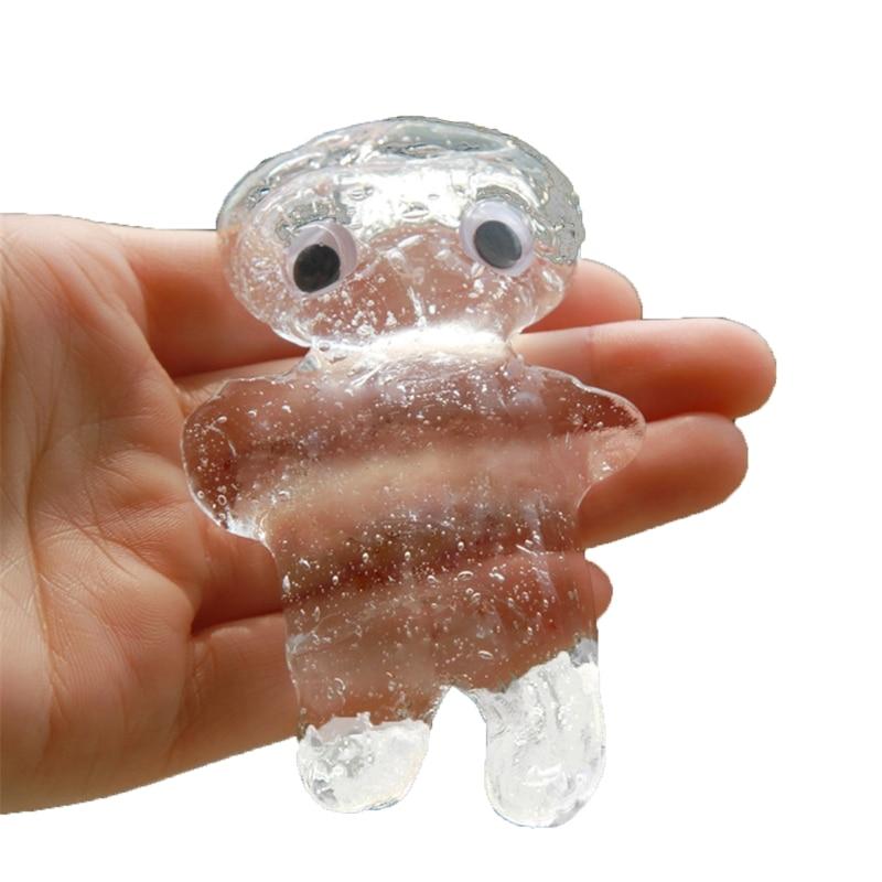 Transparent Slime Toys Never Dry No Borax Crystal Glue Plasticine Clay Kids enlarge