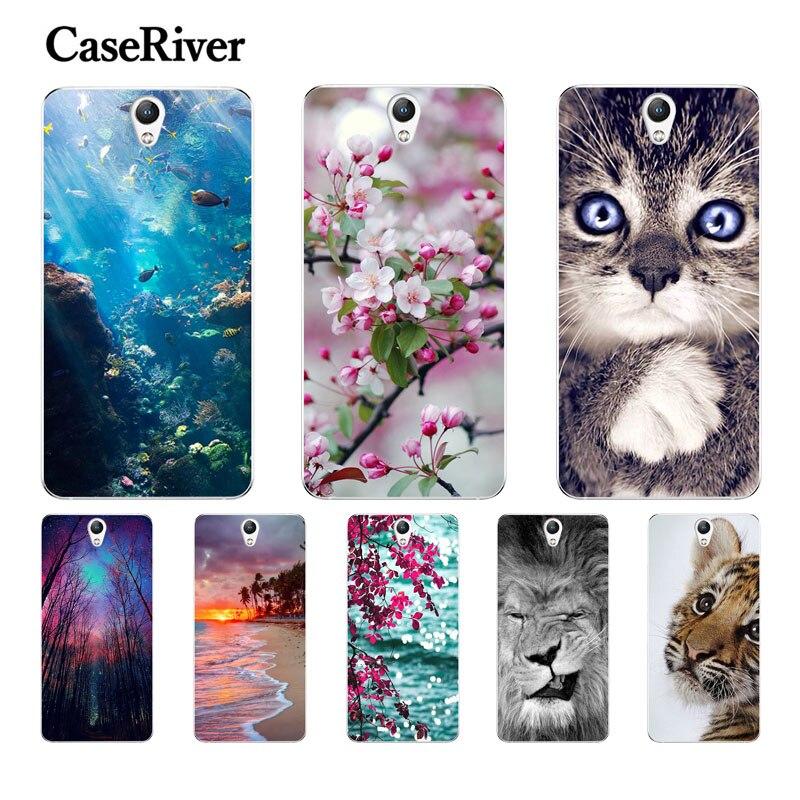 "CaseRiver 5.0"" For Lenovo Vibe S1 Case TPU Soft Silicone Phone Case FOR Lenovo S1 S1a40 S1c50 Back Case For Coque Lenovo S1 Case"