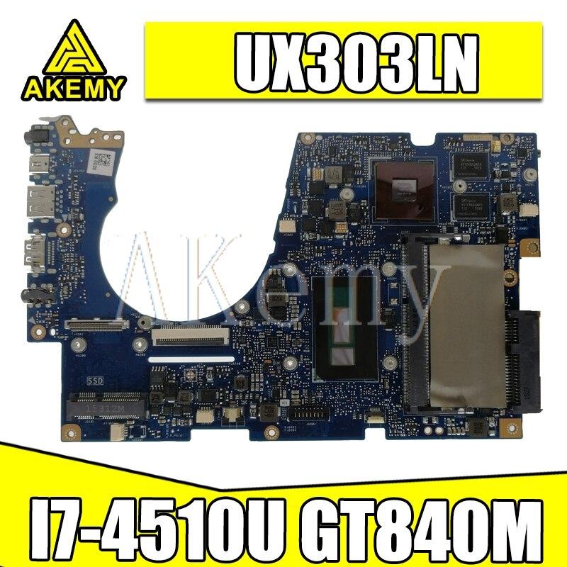 UX303LN اللوحة I7-4510U GT840M ل For Asus Chromebook UX303LB UX303LN UX303L UX303 اللوحة المحمول UX303LN اللوحة