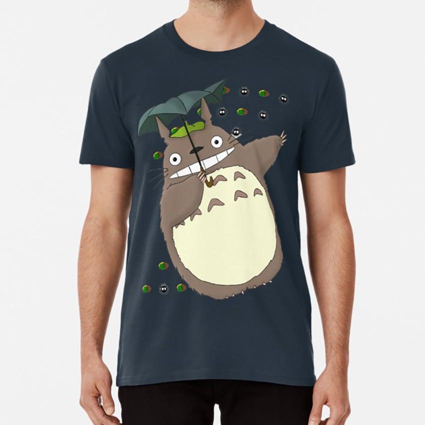 Camiseta de Totoro Cat Bus neighbor Gibli personajes divertidos dibujos animados Anime Manga