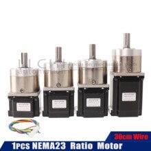 Neam23-extrudeuse de Moto 57 étapes   Engrenage 23hs5628 7628 Ratio de moteur Stepper 4128 1 boîte de vitesses planétaire OSM adaptée à imprimante 3D