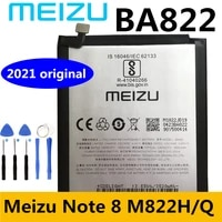 meizu new original 3600mah ba822 battery for meizu note 8 note8 m822h m822q mobile phone high quality