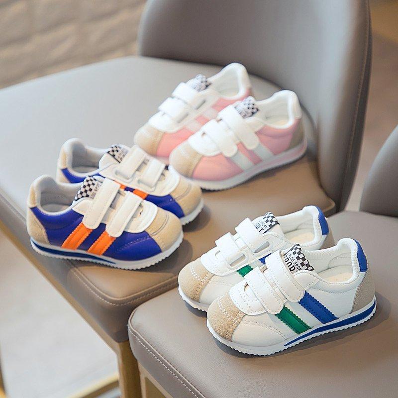 Лидер продаж Новые бренды с надписью «Cool Baby» повседневная обувь классические дышащие Всесезонная Одежда для девочек, мальчиков; Сникеры; Се...