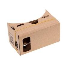 Carton 3D Ultra clair Film pour téléphone portable Google visualisation bricolage Home cinéma dispositif portable VR ensemble de lunettes