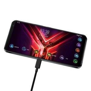 Image 3 - ASUS ROG Phone 3 глобальная версия Snapdragon 865 плюс игровой телефон ROG 3 5G смартфон 8G Оперативная память 128G Встроенная память NFC 6000 мА/ч, 144 Гц активно матричные осид