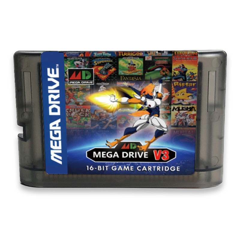 Cartucho de juego Super MD V3 Pro actualizado, 1200 en 1, para Mega Drive, SEGA GENESIS, MegaDrive, EE. UU./Japón/EUR