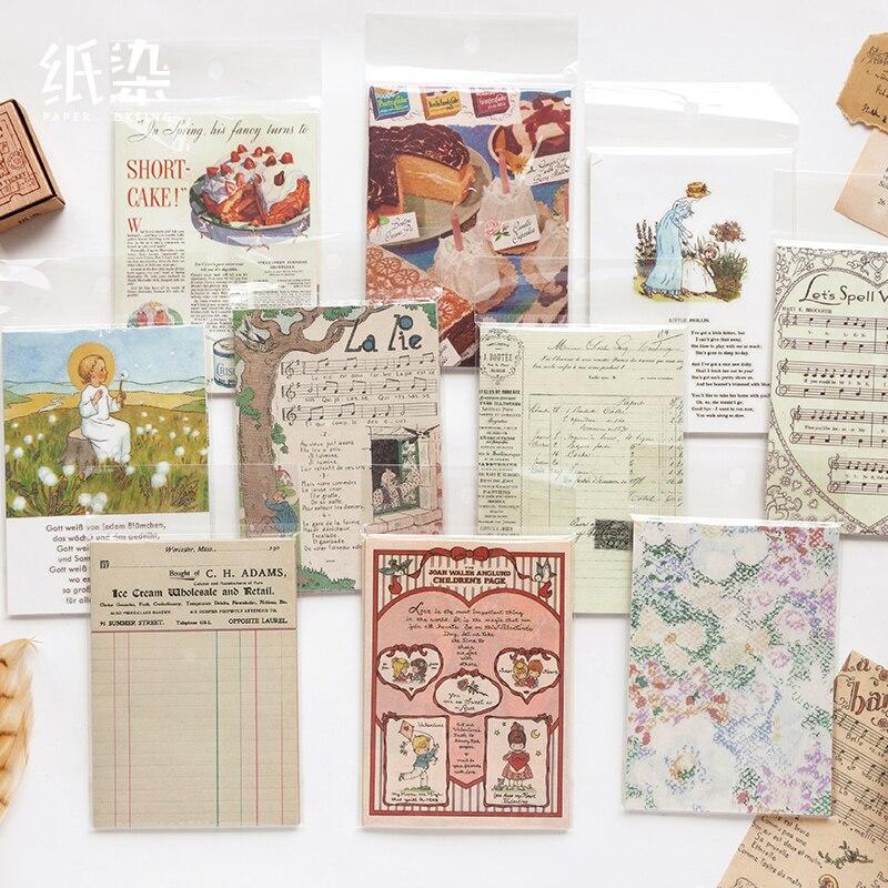 50 листов Retroism серии бумага, бумага для скрапбукинга