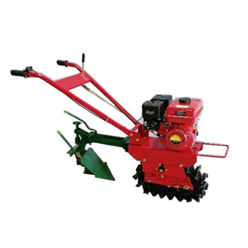 New Pastoral Management Track Caterpillar Track Micro-Tiller Multi-Functional Small Diesel Plough Agricultural Machinery Tools