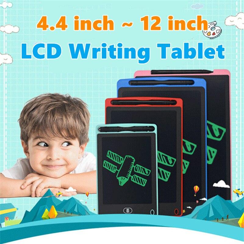 4,4/6,5/8,5/10/12 дюймов электронная доска для рисования ЖК-экран планшет для письма цифровые графические планшеты для рисования электронное руко...