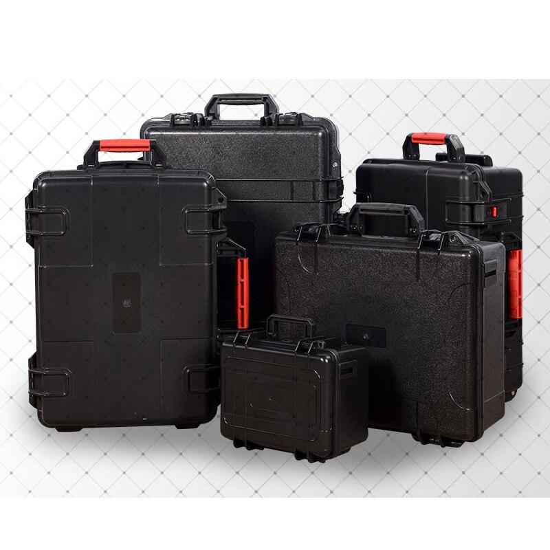 Boîte à outils étanche en plastique ABS étui à outils résistant aux chocs protecteur de sécurité organisateur équipement étui à instruments boîte à outils Portable