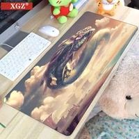 xgz dragon gaming mouse pad computer game player mouse pad large game rubber non slip mouse pad animation pc laptop big muse pad