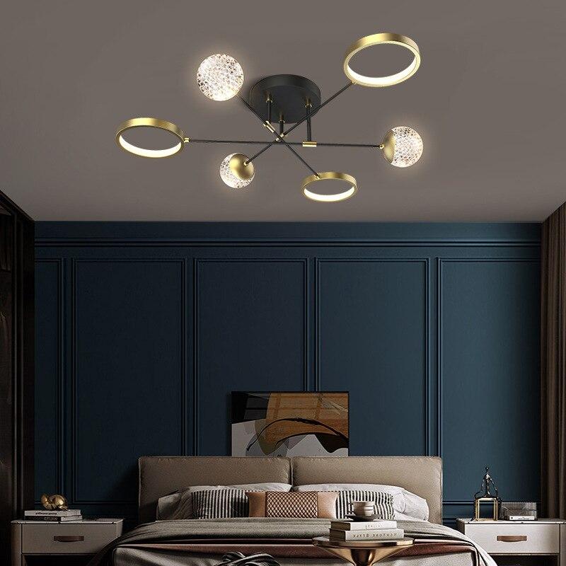 جديد نمط غرفة الطعام الثريا الشمال الحديثة منصة مشروبات مصباح لغرفة المعيشة المنزلية الفاخرة غرفة نوم غرفة الطعام الإضاءة