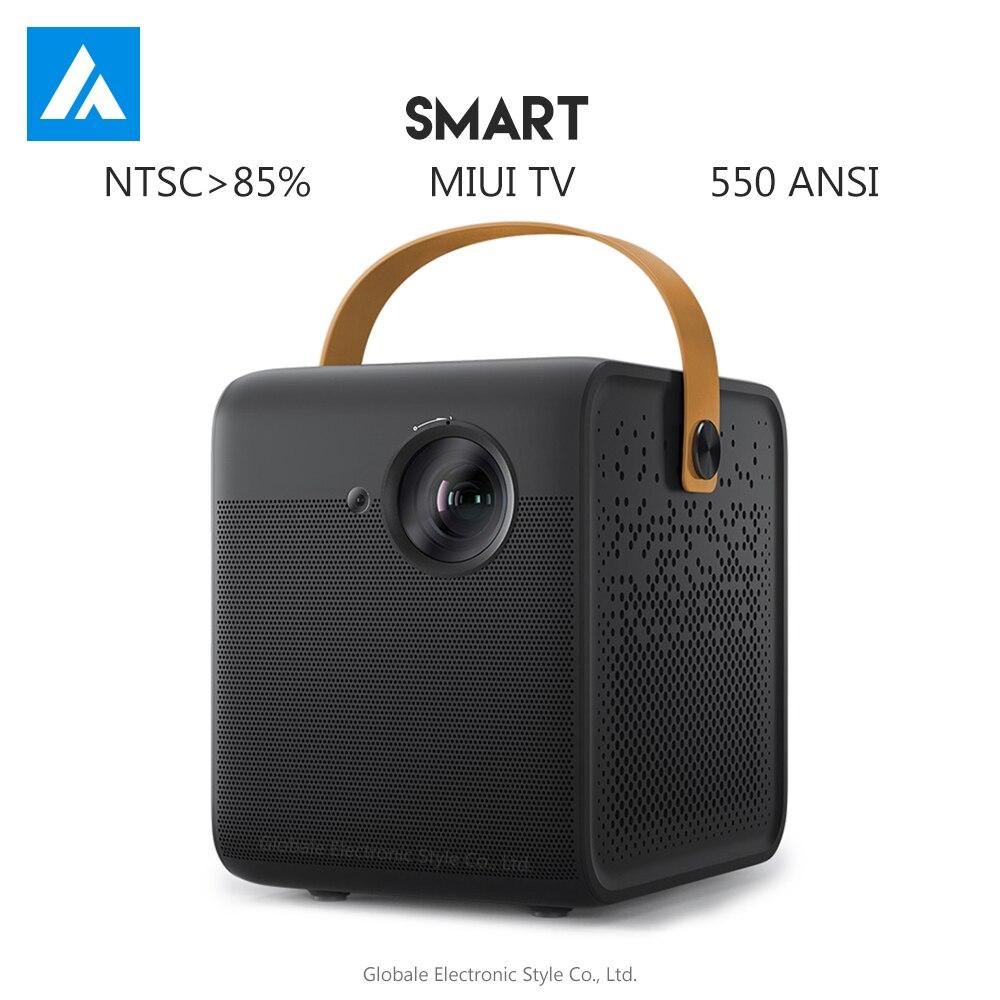 Original wemax inteligente dlp casa de teatro 1080p hd completo 550 ansi projetor android media player dolby dts cinema suporte 4k