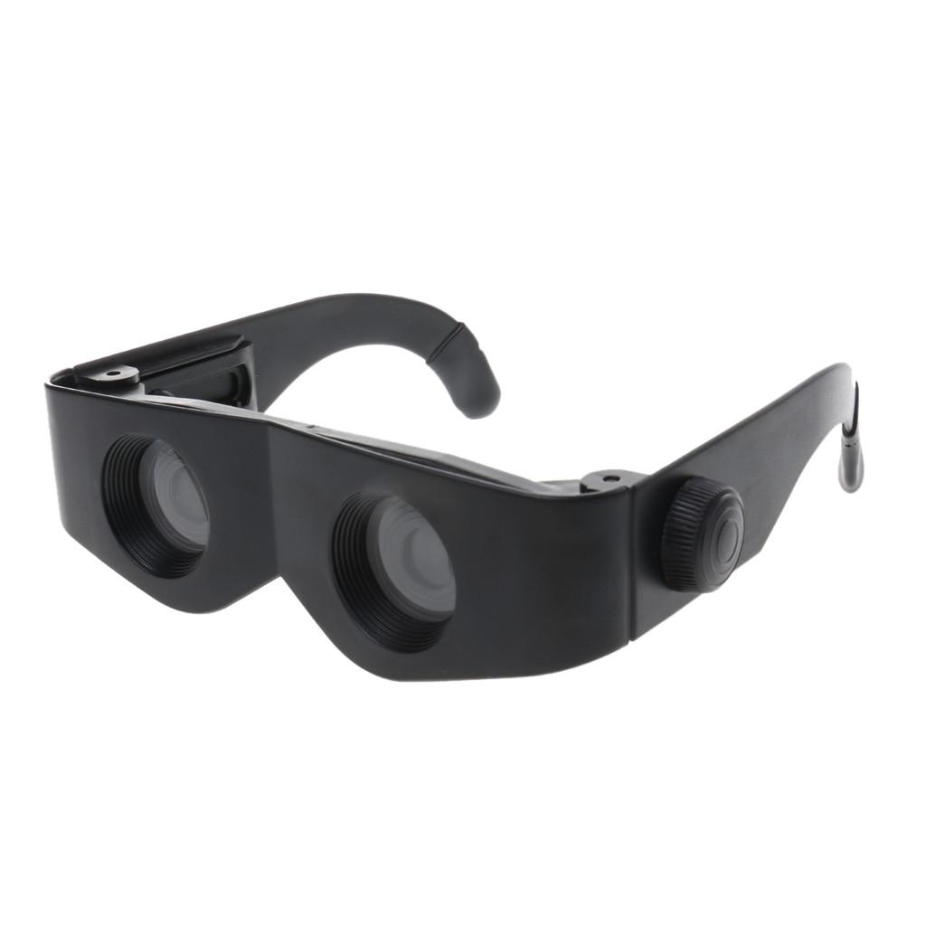 Binoculares con lupa negra, accesorios de caza