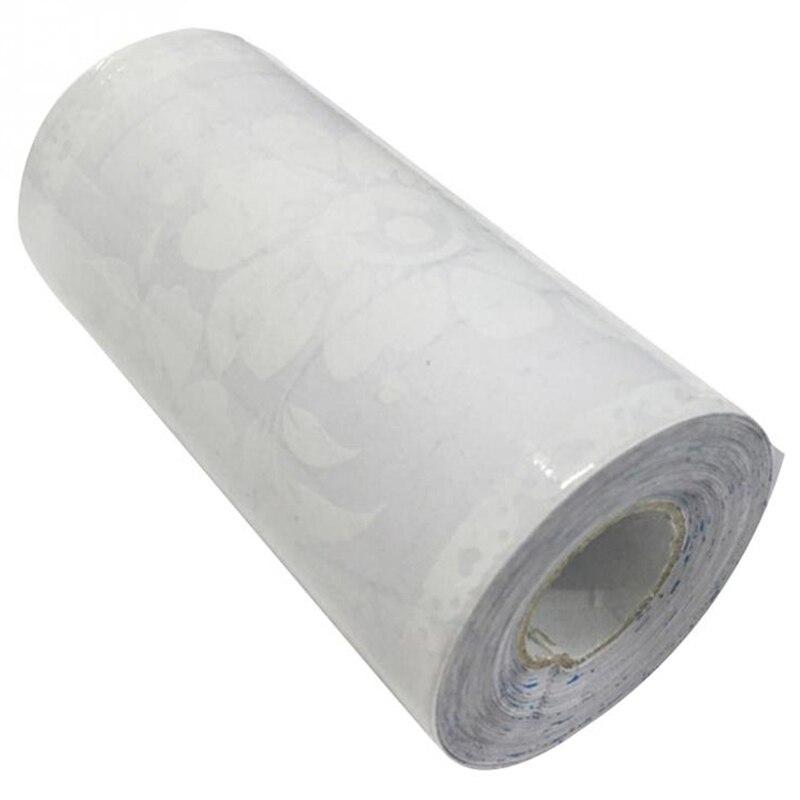 Gran oferta de 10Cm x 10M 10Cm x 10M de la pared de flores calcomanías PVC impermeables adhesivo ventana pared cintura espejo cinta decoración del hogar